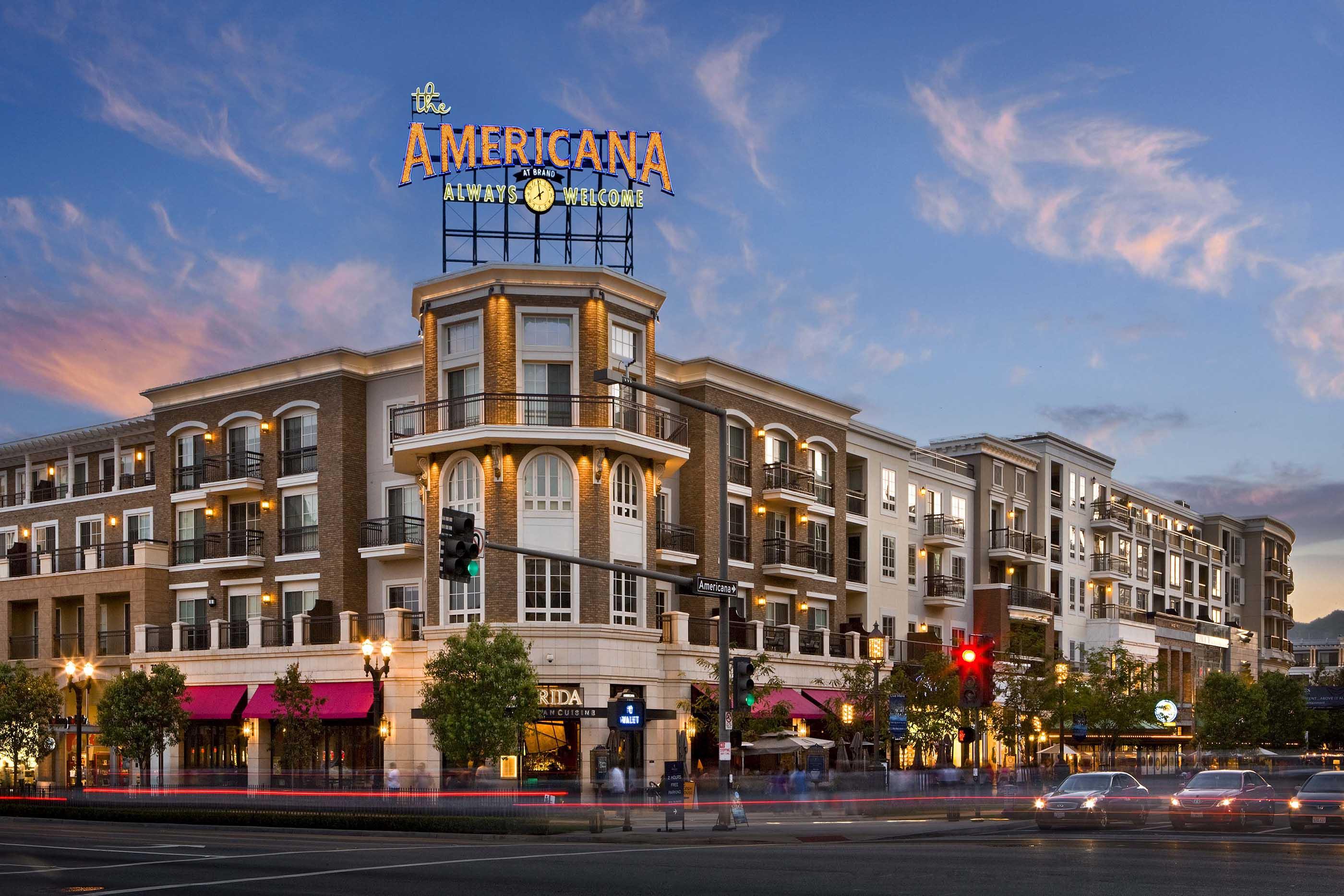 Residential Architecture Design The Americana At Brand Caruso